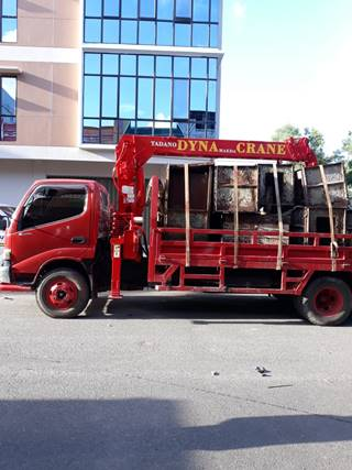 Jasa Rental Lori Crane Murah di Batam